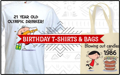 Birthday T-Shirts & Bags