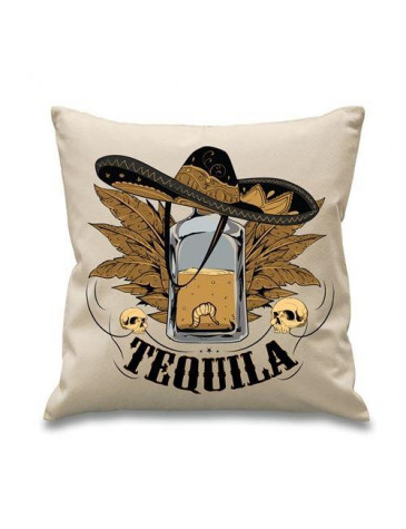 Tequila Mexican Drinking Cushion