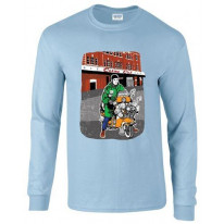 Wigan Casino Scooter Long Sleeve T-Shirt