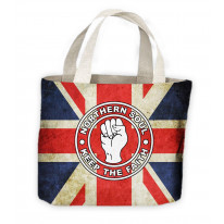 Northern Soul Keep The Faith Union Jack Tote Shopping Bag For Life