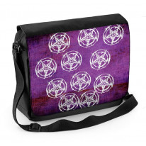 Pentagram Pagan Laptop Messenger Bag