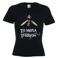 Aleister Crowley To Mega Therion Ladies T-Shirt