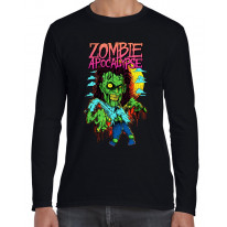 Zombie Apocalypse Men's Long Sleeve T-Shirt
