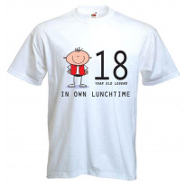 18 Year Old Legend in Own Lunchtime 18th Birthday Men's T-Shirt