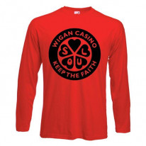 Wigan Casino Keep The Faith Long Sleeve T-Shirt