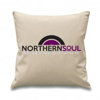 Northern Soul Vinyl Logo Cushion