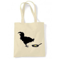 Banksy Chicken & Egg Shoulder Bag