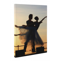 Sunset Ballet Box Canvas Print Wall Art - Choice of Sizes