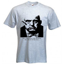 Aleister Crowley Do What Thou Wilt T-Shirt
