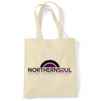 Northern Soul Vinyl Logo Shoulder Bag