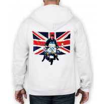 Union Jack Scooter Mod Full Zip Hoodie