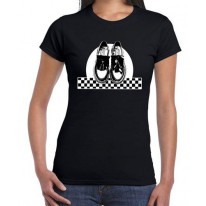 Ska Dancing Shoes Women's T-shirt