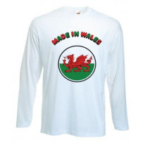 Made In Wales Long Sleeve T-Shirt