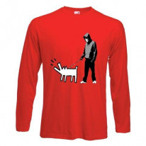 Banksy Choose Your Weapon Long Sleeve T-Shirt