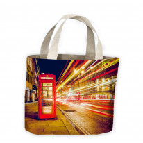 London Phone Box Tote Shopping Bag For Life