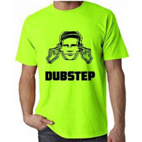 Dubstep Hearing Protection Neon T-Shirt
