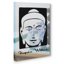 Inquire Within Box Canvas Print Wall Art - Choice of Sizes