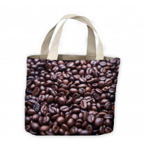 Coffee Beans Tote Shopping Bag For Life