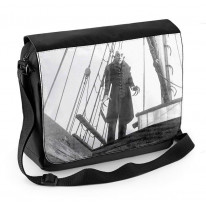 Nosferatu Ship Laptop Messenger Bag
