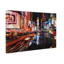 New York Times Square Box Canvas Print Wall Art - Choice of Sizes