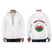 Made In Wales Full Zip Hoodie