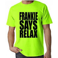 Frankie Says Relax Neon T-Shirt