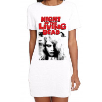 Night Of The Living Dead Zombie Women's T-Shirt Dress