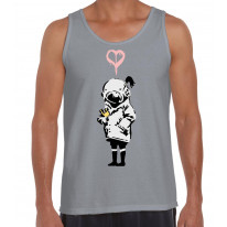 Banksy Think Tank Men's Tank Vest Top