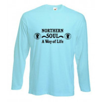 Northern Soul A Way Of Life Long Sleeve T-Shirt