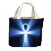 Egyptian Ankh Symbol Of Life Tote Shopping Bag For Life