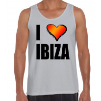 I Love Ibiza Men's Tank Vest Top