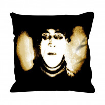 Cabinet of Dr Caligari Faux Silk 45cm x 45cm Sofa Cushion
