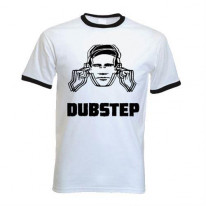Dubstep Hearing Protection Ringer T-Shirt