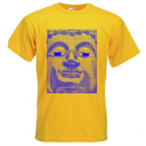 Blue Buddha Mens T-Shirt