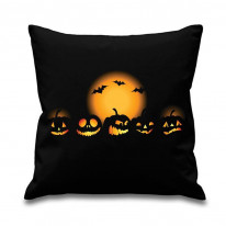 Halloween Pumpkins Scatter Cushion