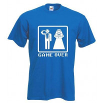 Game Over Stag Do Mens T-Shirt