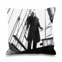 Nosferatu Ship Faux Silk 45cm x 45cm Sofa Cushion