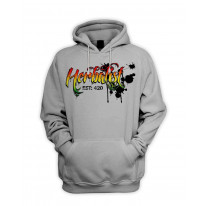 Herbalist 420 Cannabis Men's Pouch Pocket Hoodie Hooded Sweatshirt