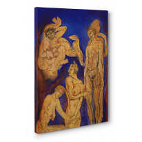 Austin Osman Spare Efflaration Box Canvas Print Wall Art - Choice of Sizes