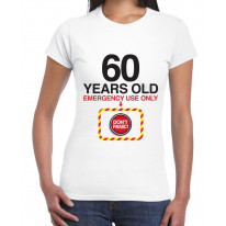 Don't Panic 60th Birthday Women's T-Shirt
