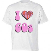 I Love The 60s T-Shirt