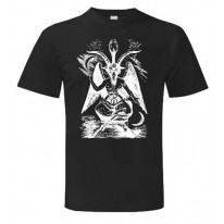 Goat Of Mendes White Print T-Shirt