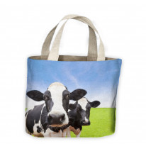 Cow Herd Tote Shopping Bag For Life