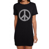 Peace Symbol CND Women's T-Shirt Dress
