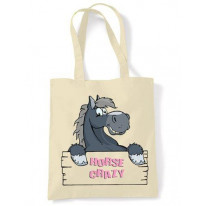 Horse Crazy Tote \ Shoulder Bag