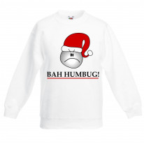 Bah Humbug Funny Christmas Kids Jumper \ Sweater