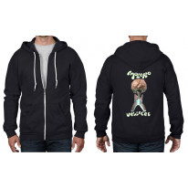 Moloko Clockwork Orange Zip Hoodie