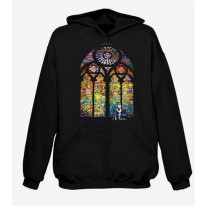 Banksy Stained Glass Hoodie