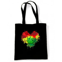 Rasta Heart Shoulder Bag