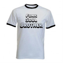 Funk Soul Brother Contrast Ringer T-Shirt